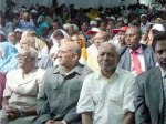 Somaliland officials at ceremony