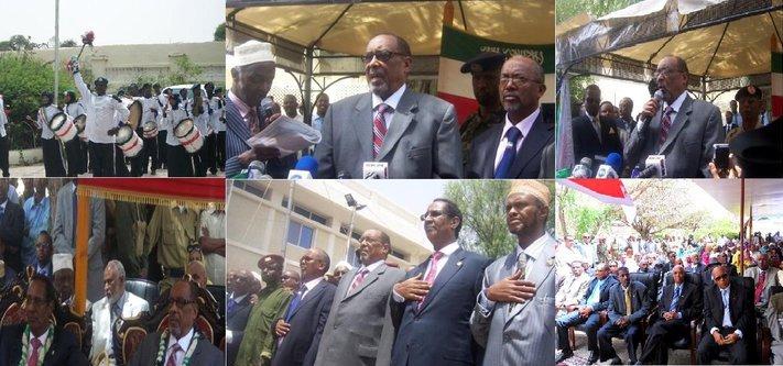 Somaliland President Ahmed Mohamed Mohamoud Silanyo